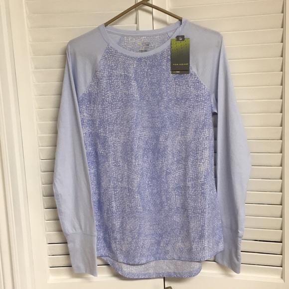 TEK gearNWT light blue athletic shirt long sleeve 1910af0c2